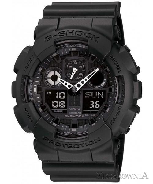 zegarek meski casio g shock ga 100 1a1er