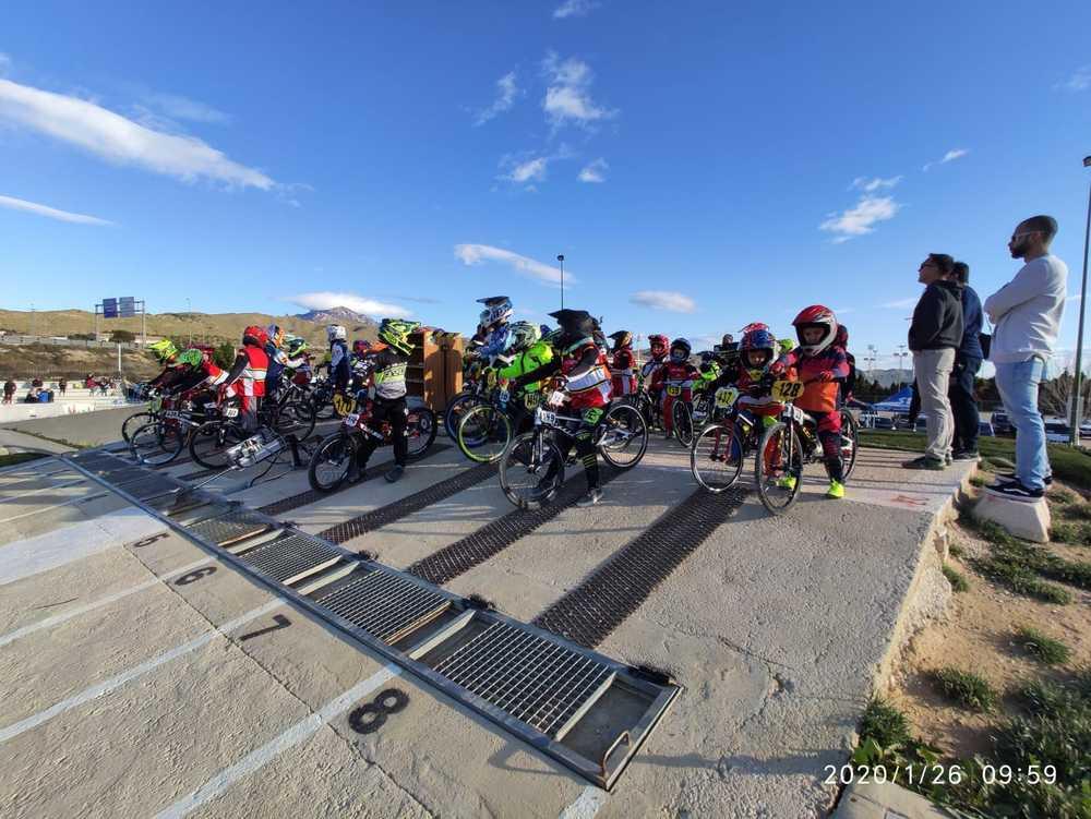 Galeria zdjęć Start kontrolny kadry BMX