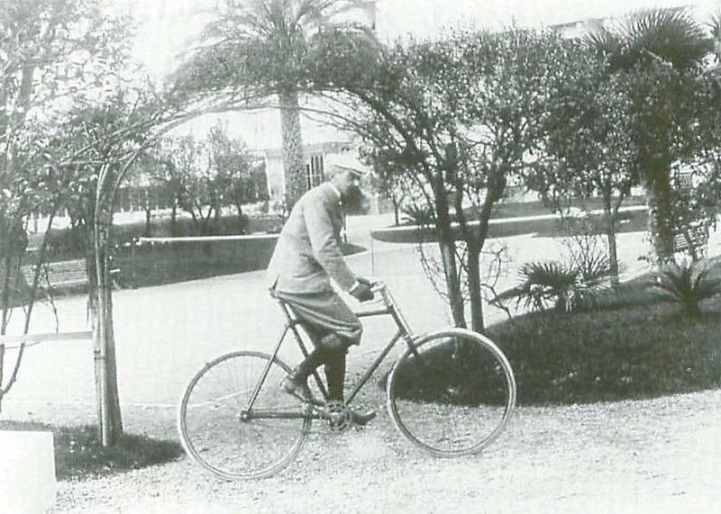 Ojciec ruchu olimpijskiego był zakochany w jeździe na rowerze. Mało kto o tym wie