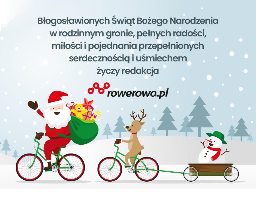 Życzenia Bożonarodzeniowe od Rowerowa.pl