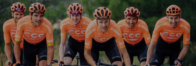 CCC Team na starcie Tour de l'Ain