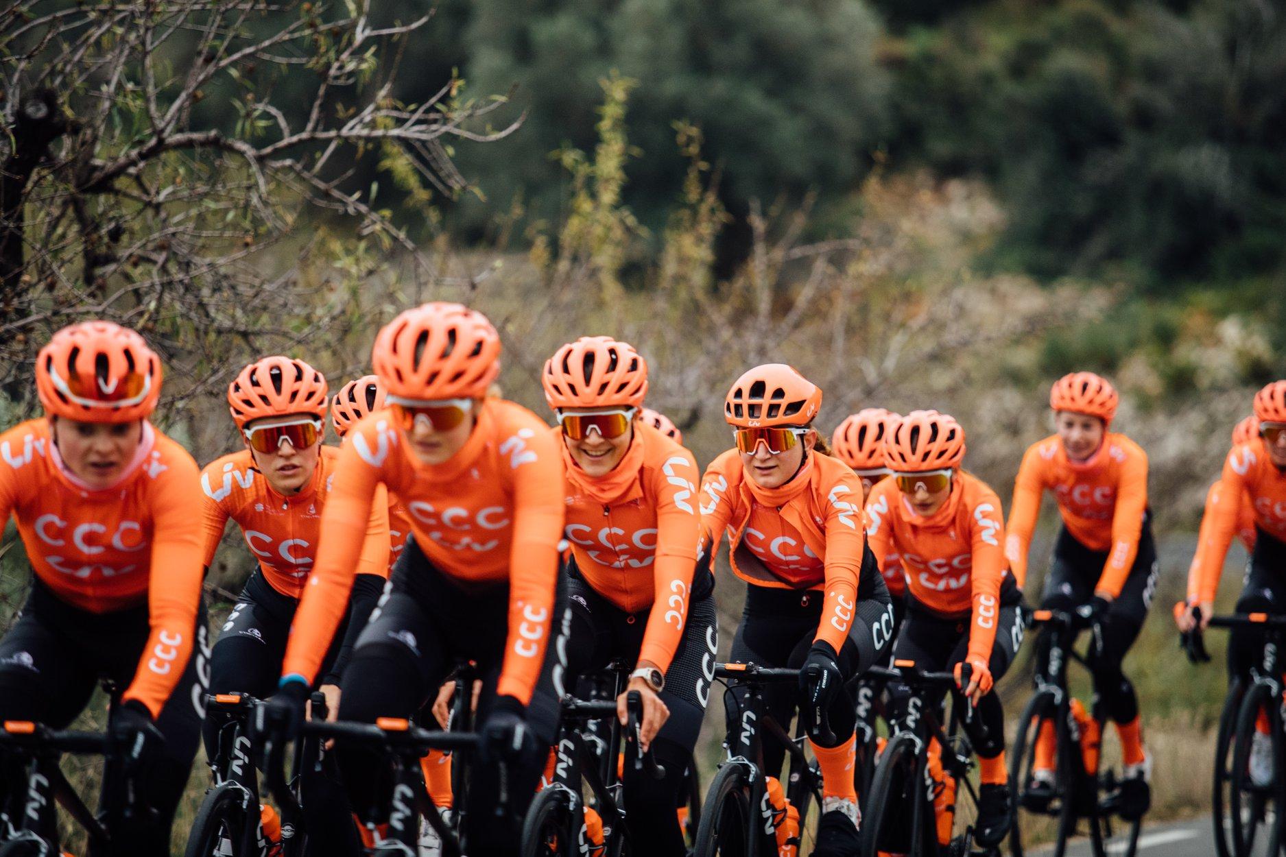 CCC-Liv przygotowuje się do wyścigów w Hiszpanii