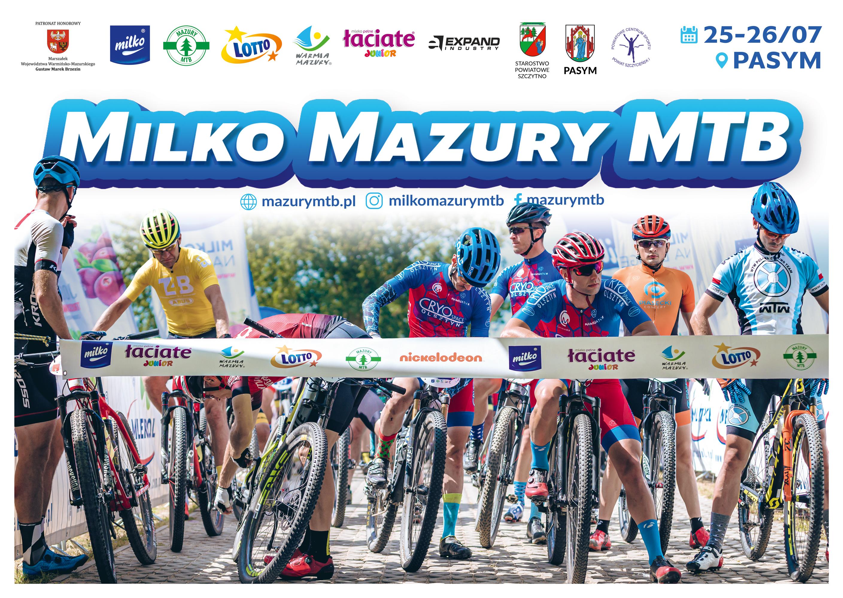 Rozpoczyna się sezon kolarski na Mazurach!