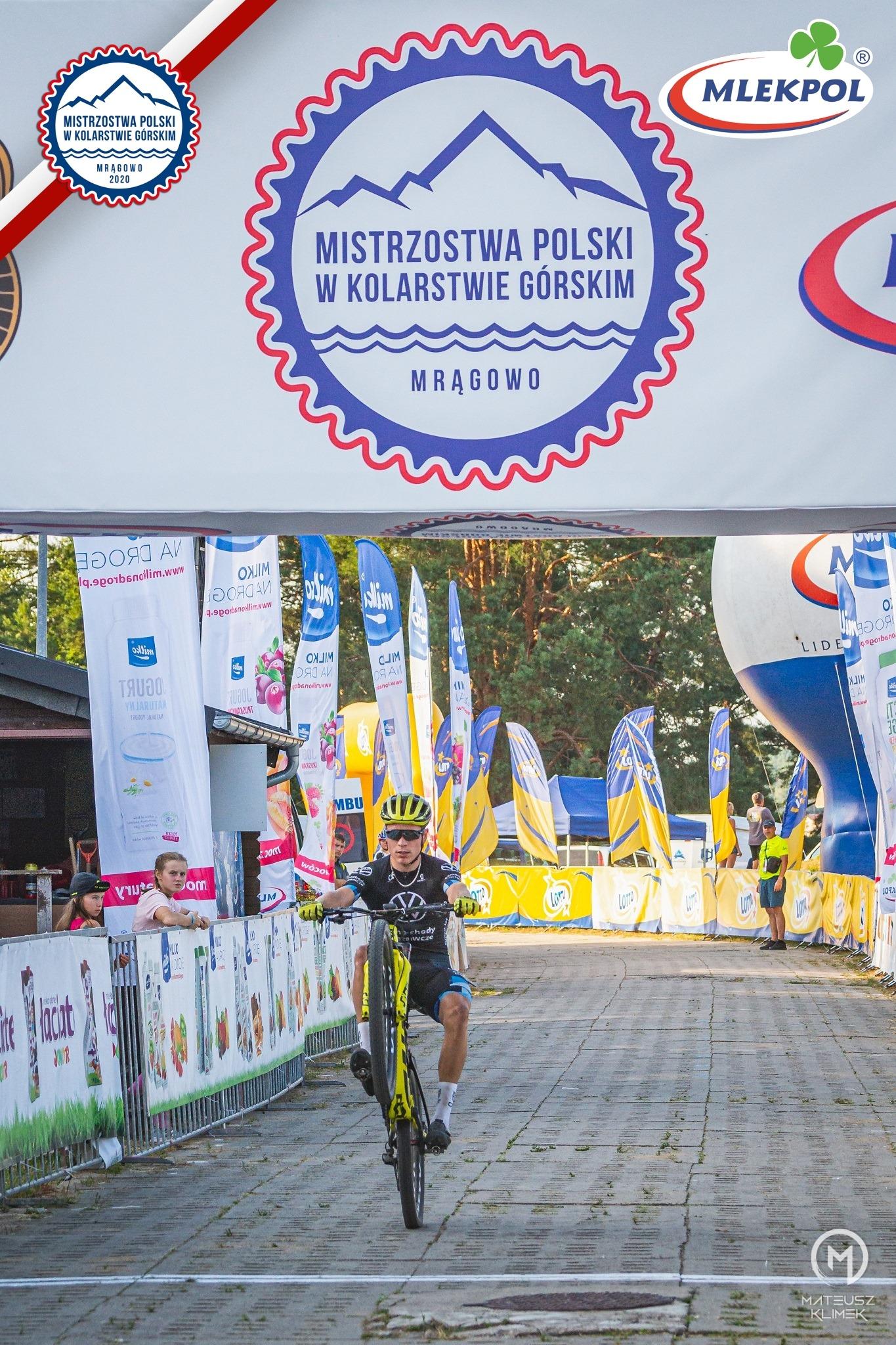 Mistrzostwa Polski w kolarstwie górskim Mrągowo 2020 – dzień 1