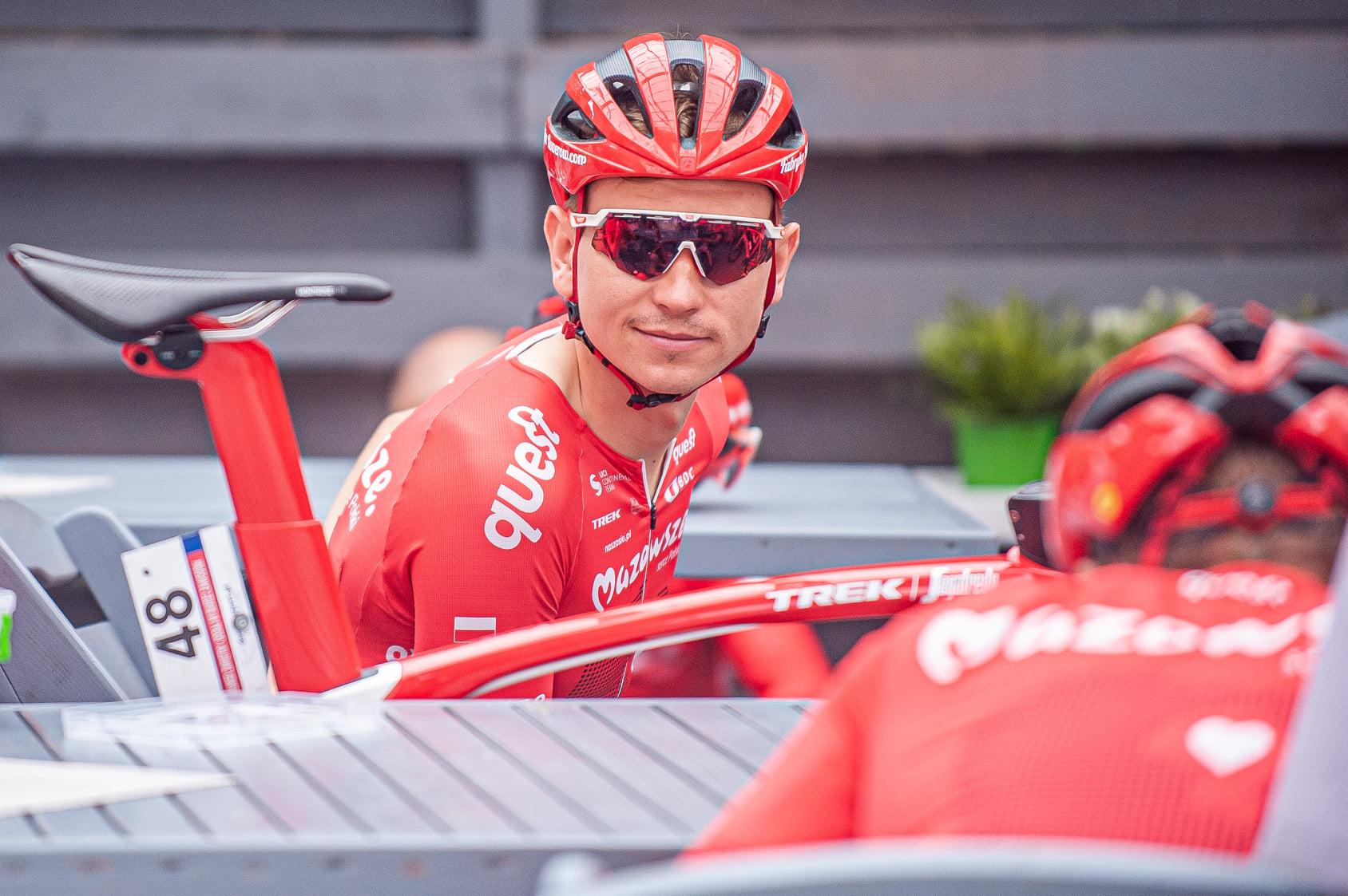 Jakub Kaczmarek wygrywa królewski etap wyścigu Belgrade-Banjaluka