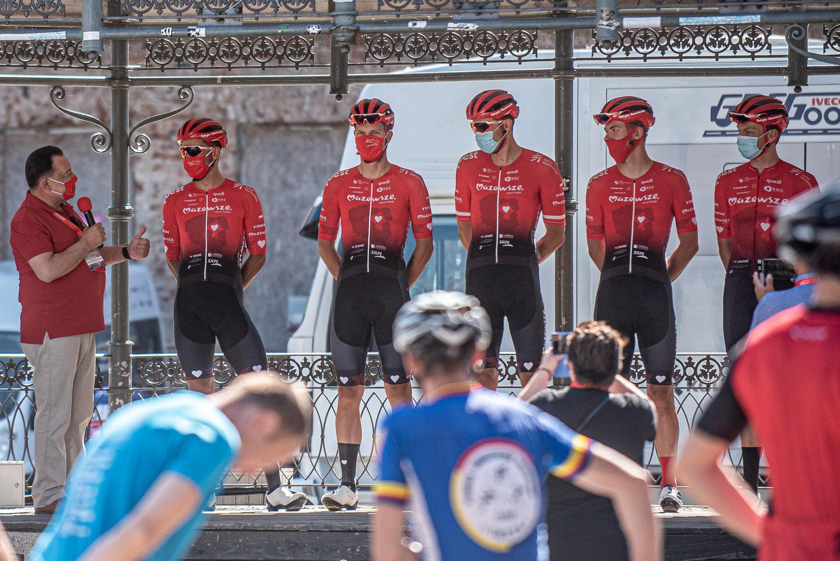 Mazowsze Serce Polski Team rozpoczyna  ściganie w Wenecji