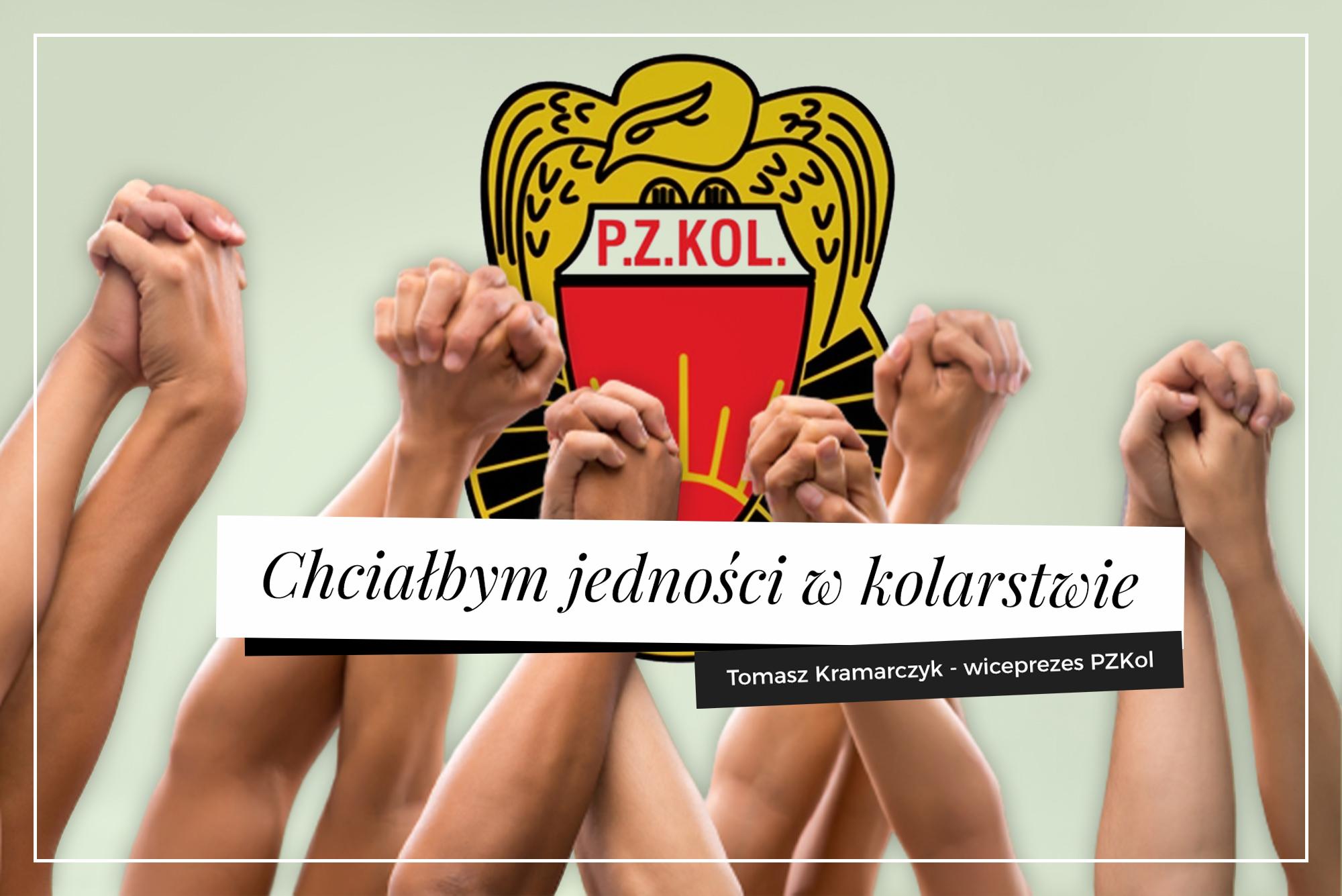 Wiceprezes PZKol Tomasz Kramaczyk: Na urodziny chciałbym jedności w kolarstwie