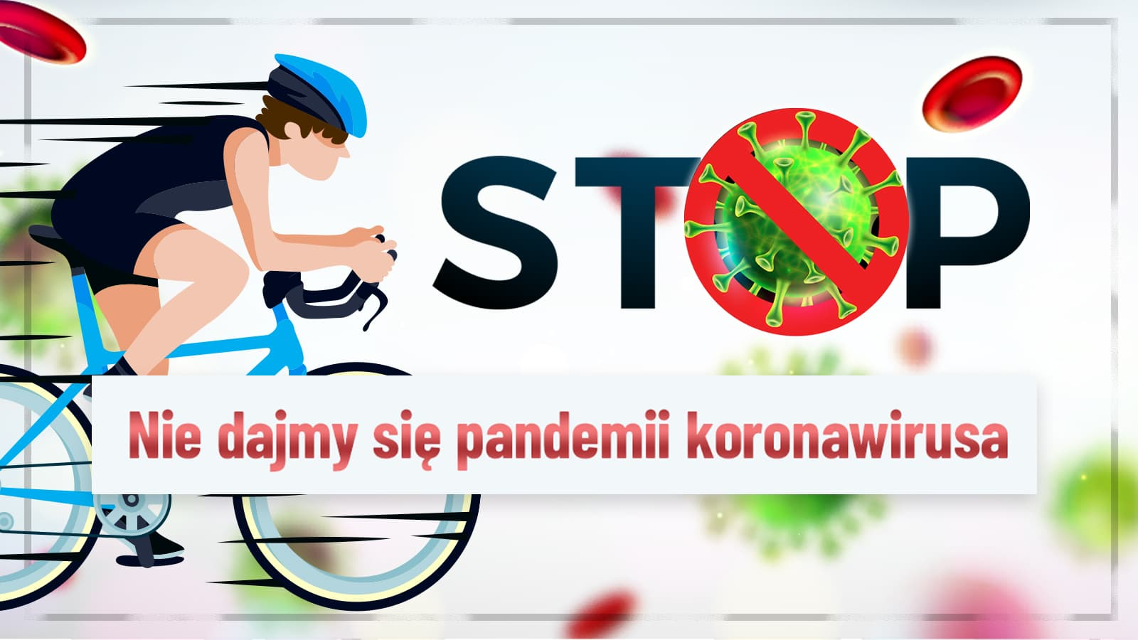 Nie dajmy się pandemii koronawirusa. Jazda na rowerze podnosi naszą odporność