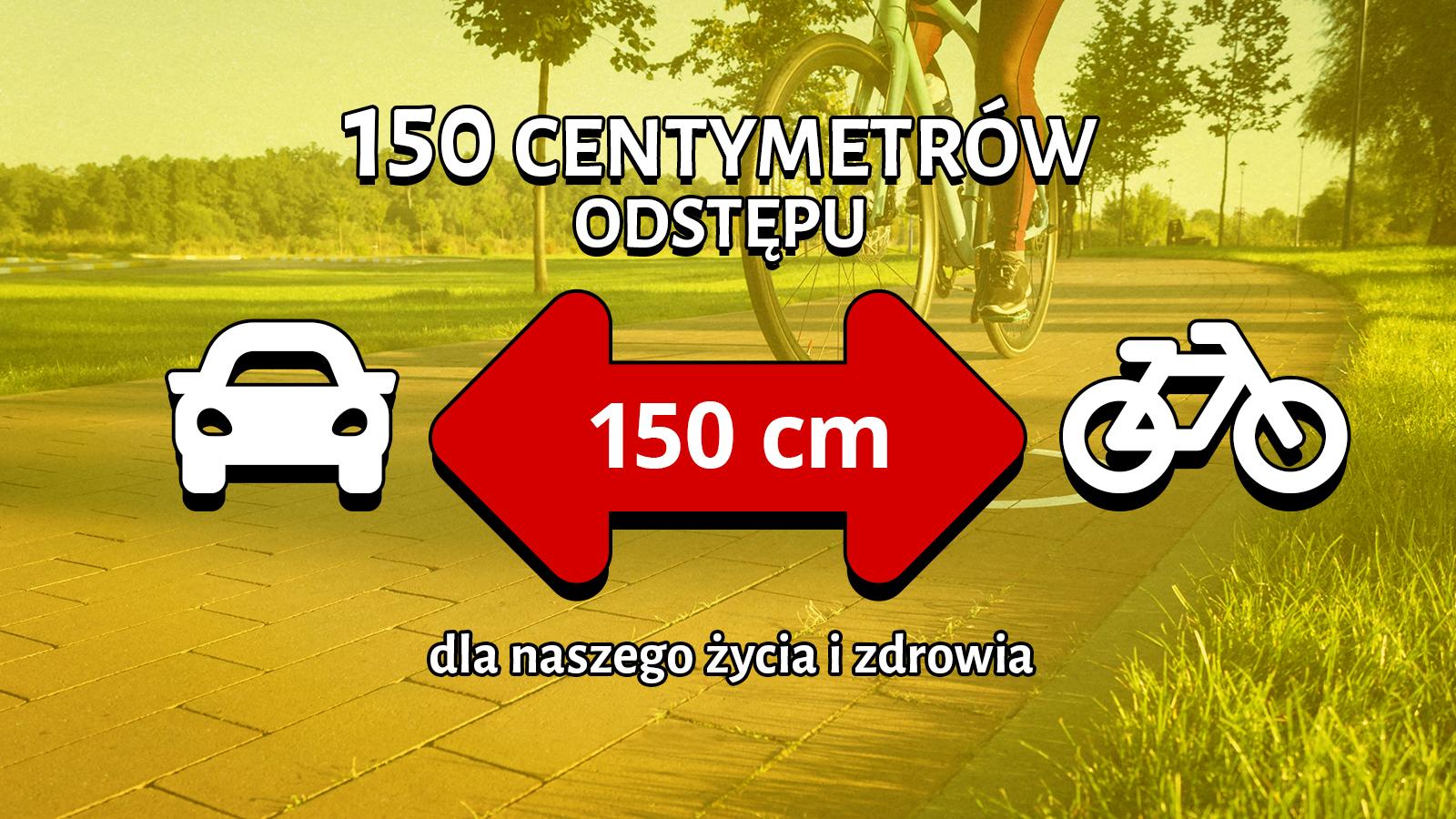 Bierzmy przykład z Czechów. 150 centymetrów odstępu - dla naszego życia i zdrowia