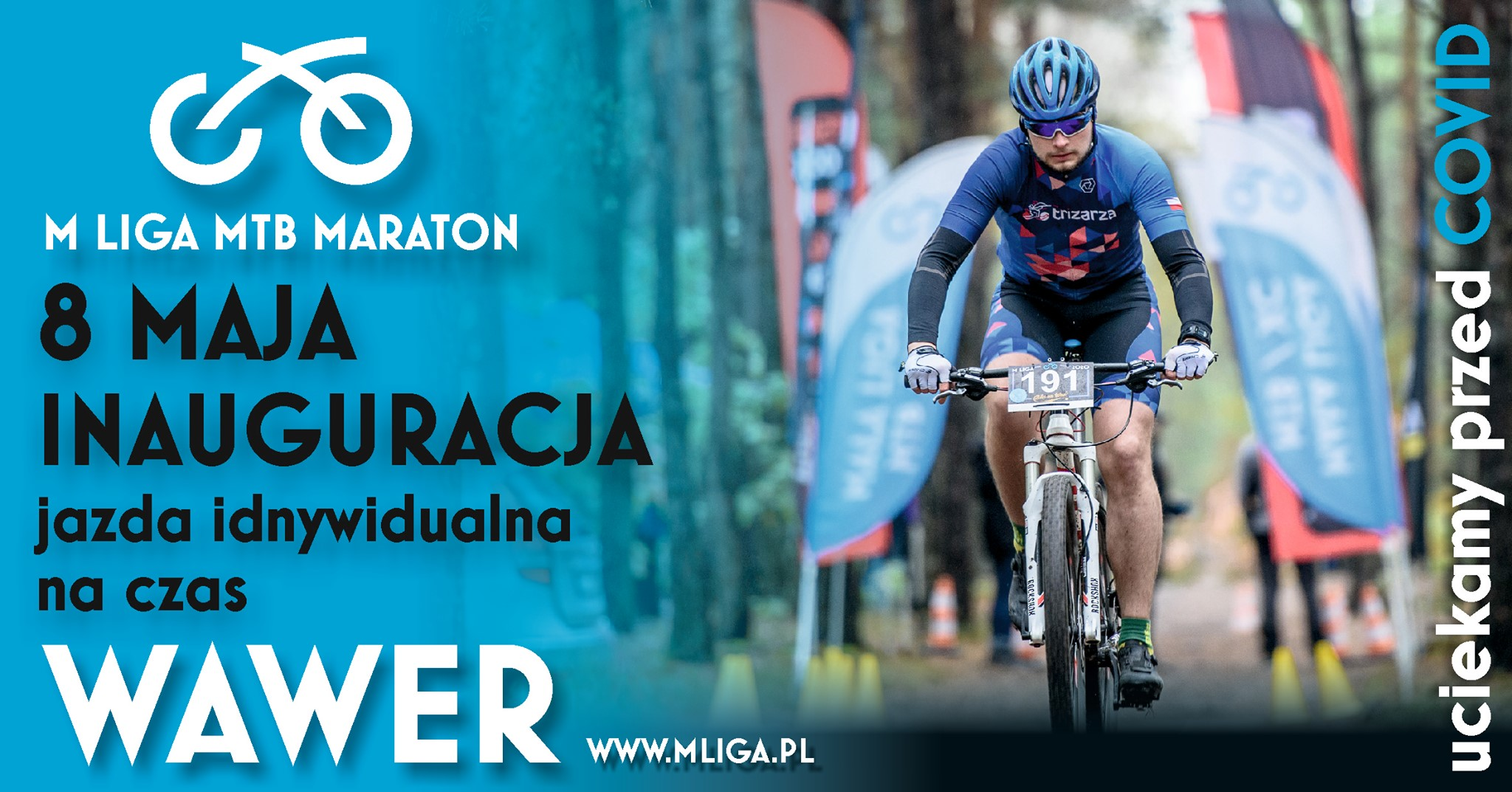 Inauguracja cyklu M LIGA MTB Maraton
