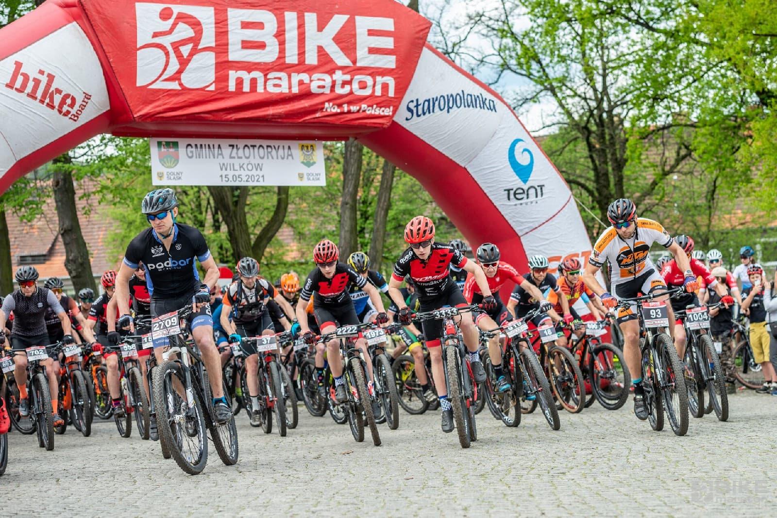 Mocny początek w Złotoryi. Bike Maraton 2021