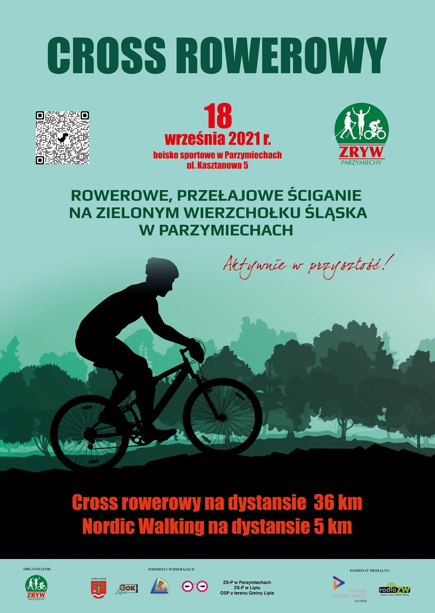 Przełajowe Ściganie Na Zielonym Wierzchołku Śląska w Parzymiechach (cross rowerowy)