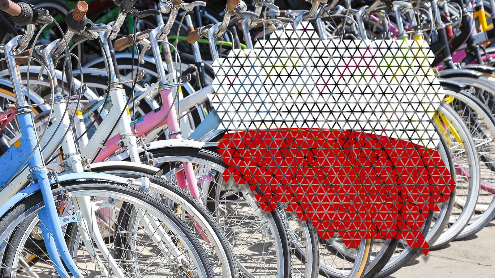 Miał być milion samochodów elektrycznych, a jest milion rowerów! Polska jednym z europejskich liderów