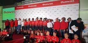 Prezentacja - Mazowsze Serce Polski Cycling Team & Tour Bitwa Warszawska...