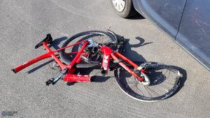 Dwie rowerzystki potrącone przez samochód w Wilkowicach