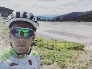 Paweł Franczak na 3. miejscu w GP Kranj