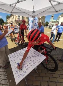 Alan Banaszek wygrywa pierwszy etap wyścigu Dookoła Bułgarii