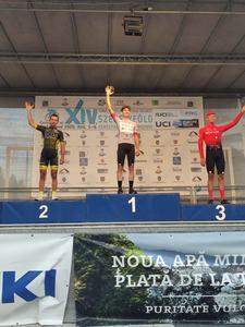 Jakub Kaczmarek wygrywa Tour of Szeklerland