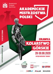 Zapowiedź Akademickich Mistrzostw Polski w kolarstwie górskim 2020