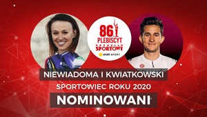 Sportowiec Roku 2020: Niewiadoma i Kwiatkowski nominowani