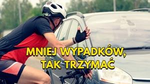 W 2020 roku na polskich drogach mogliśmy poczuć się bezpieczniej....