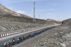 5. miejsce Majki na trzecim etapie UAE Tour